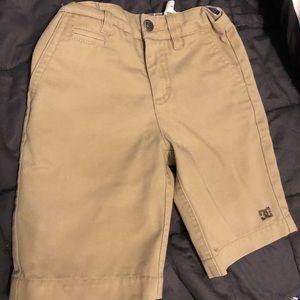 DG khaki skater shorts